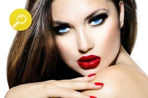 Jak dobra� czerwon� szmink�?