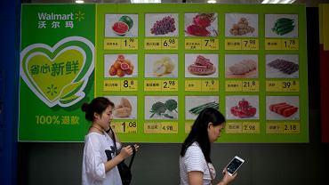 Sklep Walmart w Pekinie