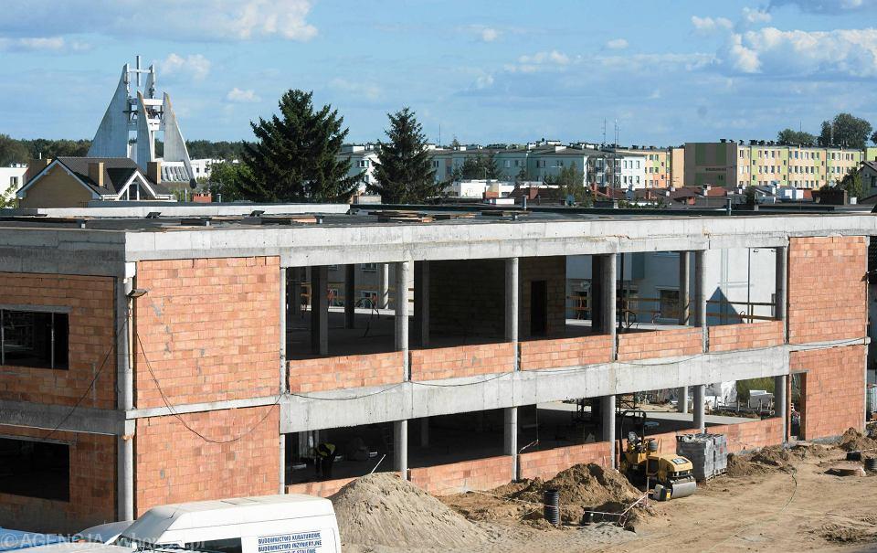 Budowa nowego budynku NFZ przy ul. Łomżyńskiej