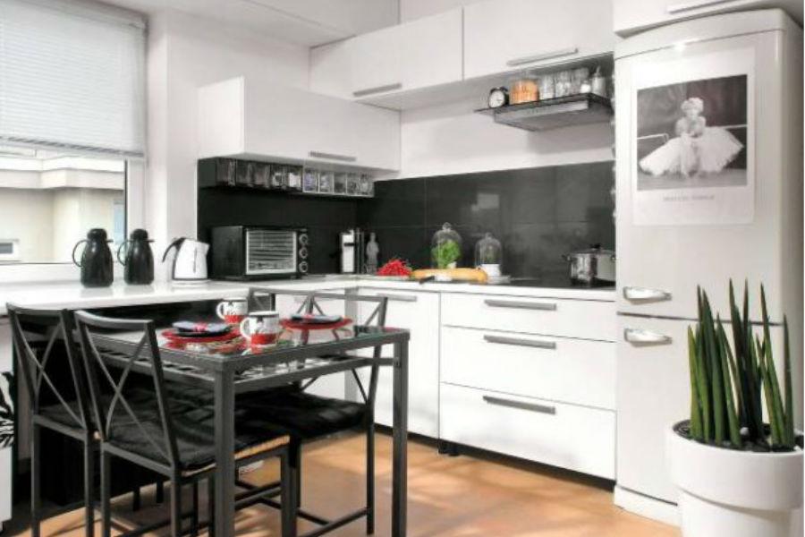 3 praktyczne rady jak urządzić małą kuchnią