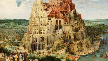 Wieża Babel (Pieter Bruegel starszy). Według Biblii do czasów jej budowy wszyscy ludzie mówili jednym językiem. Dziś na całym świecie mówimy w ponad sześciu tysiącach języków