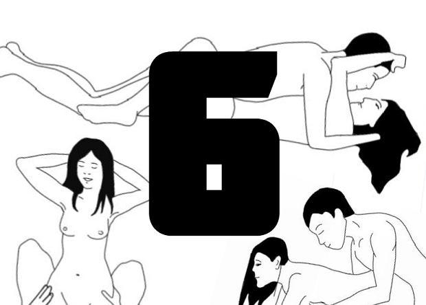 Nie oszukujmy się, istnieje tylko sześć pozycji seksualnych. Cała reszta to wariacje na ich temat