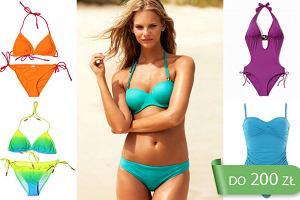 Stroje kąpielowe w nasyconych kolorach do 200 zł - ponad 90 propozycji!