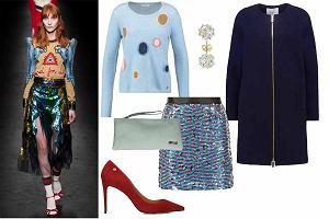 Cekinowe spódnice i sukienki - jak nosimy je tej jesieni?