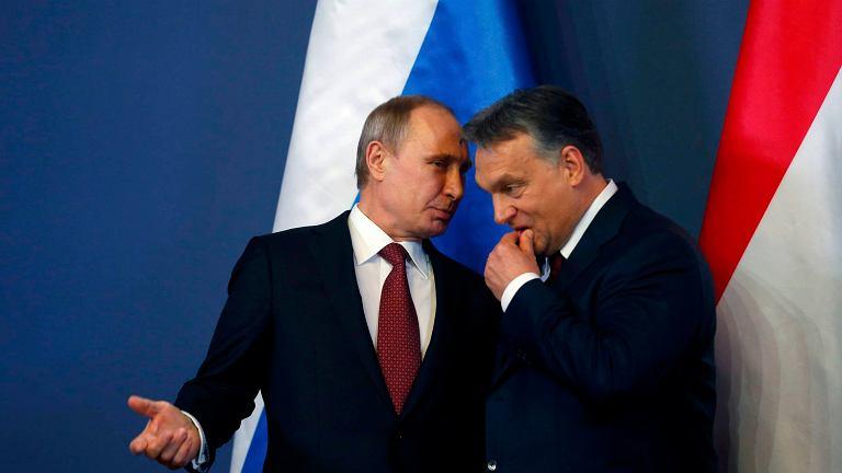 Władimir Putin i Viktor Orban