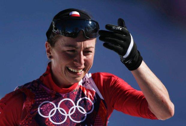 Dzi�ki �wietnemu wyst�powi Justyny Kowalczyk, reprezentacja Polski pierwszy raz w historii zdoby�a w trakcie zimowych igrzysk dwa z�ote medale!