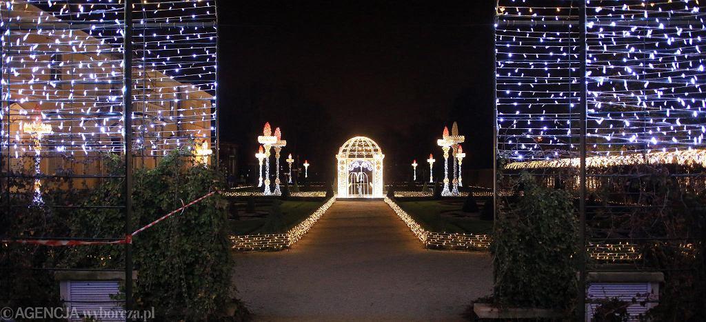 Królewski Ogród Światła przy Pałacu w Wilanowie / JACEK MARCZEWSKI