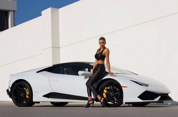 Lamborghini Huracan i modelka | Lepsza wersja