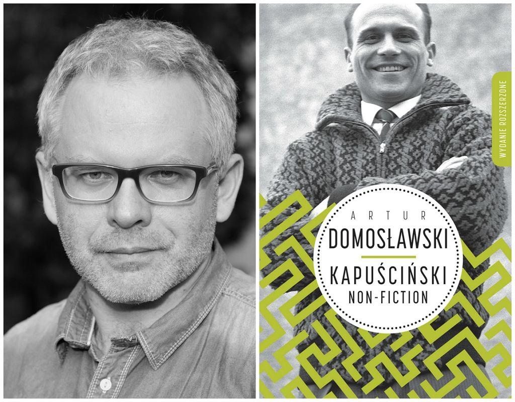 Artur Domosławski i biografia Ryszarda Kapuścińskiego 'Non fiction' (fot. Andrzej Georgiew/mat. wyd. Wielka Litera)
