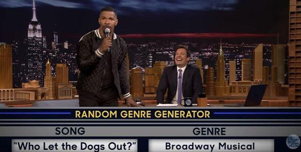 """Zaśpiewać kawałek Rihanny w stylu operowym? Albo znany wszystkim hit """"Who Let The Dogs Out"""" niczym w broadwayowskim musicalu? Dla gości tego programu to żaden problem. A już w szczególności dla popularnego aktora, komika i piosenkarza Jamiego Foxxa. Gwiazdor gościł w programie znanego komika Jimmy'ego Fallona, """"The Tonight Show"""". Jesteście ciekawi, jak Jamie Foxx zaprezentował utwór """"Bitch Better Have My Money""""? Zobaczcie sami!"""