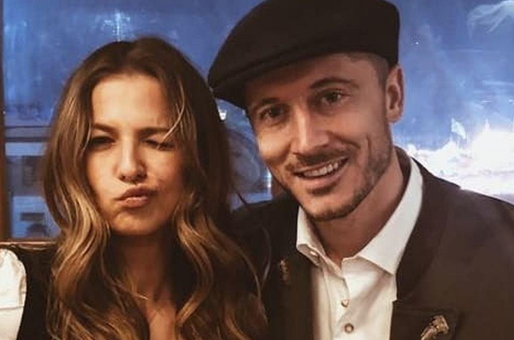 Anna i Robert Lewandowscy na Oktoberfest