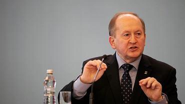 Prezes Zwiazku Bankow Polskich Krzysztof Pietraszkiewicz