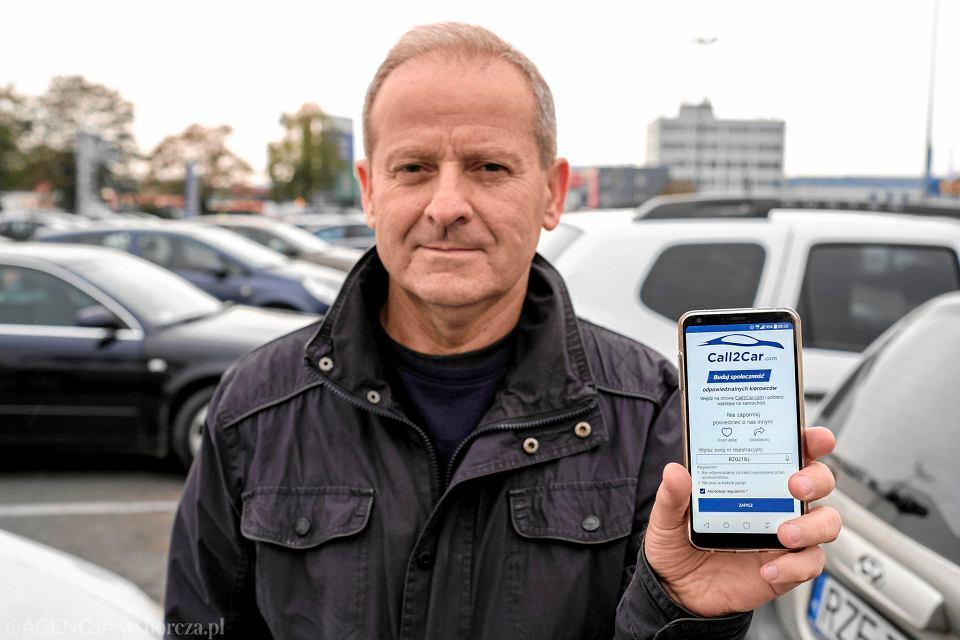 Zbigniew Sobejko, pomysłodawca i współtwórca aplikacji Call2Car