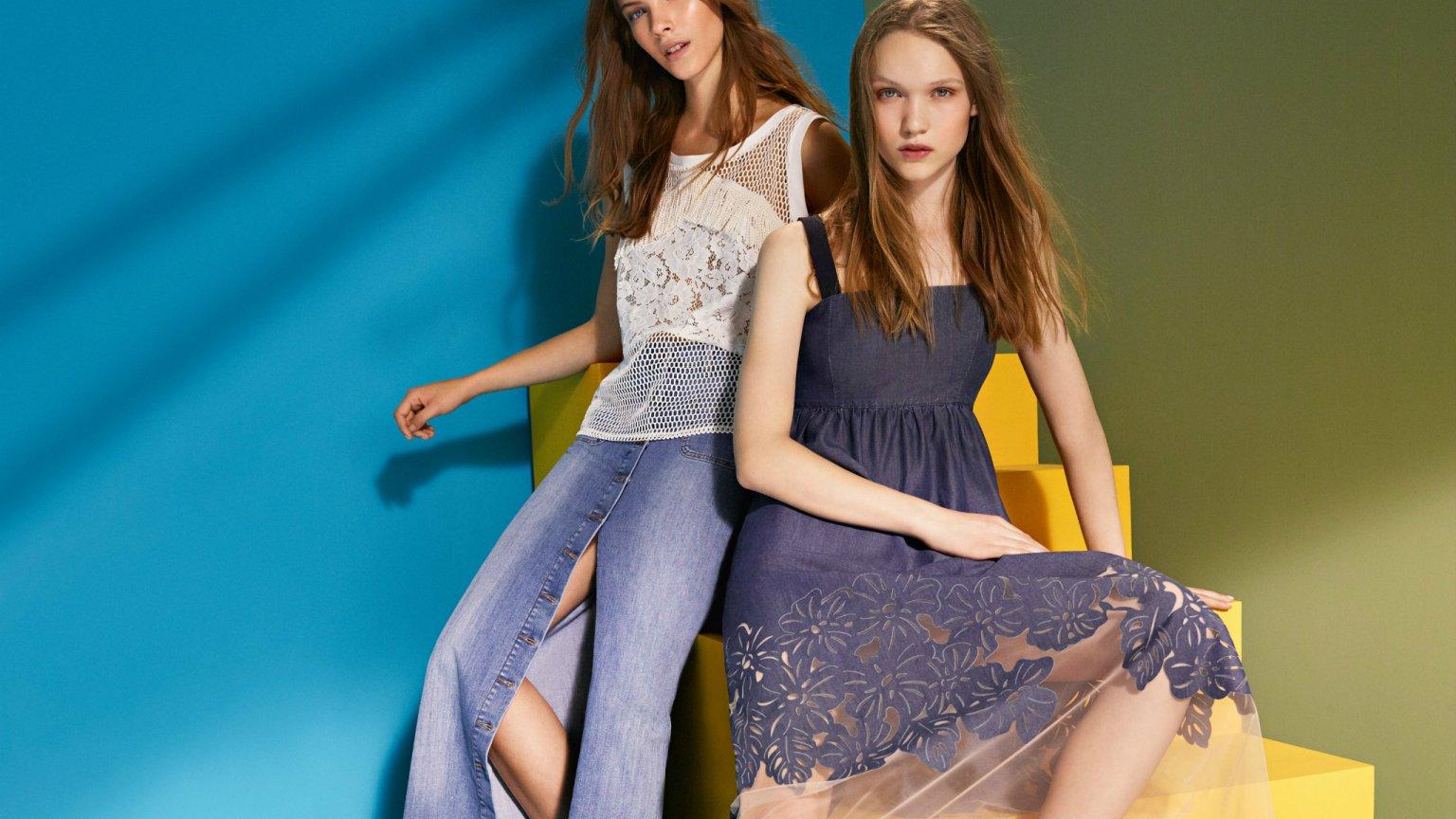 Liu Jo Käsilaukku : Liu jo jeans denimowa kolekcja na wiosn lato