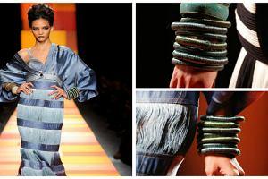 DIY: Zakr�cone bransoletki jak u J.P. Gaultier