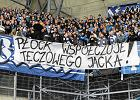 Kibice Lecha Poznań i Wisły Płock obrażali prezydenta Jacka Jaśkowiaka