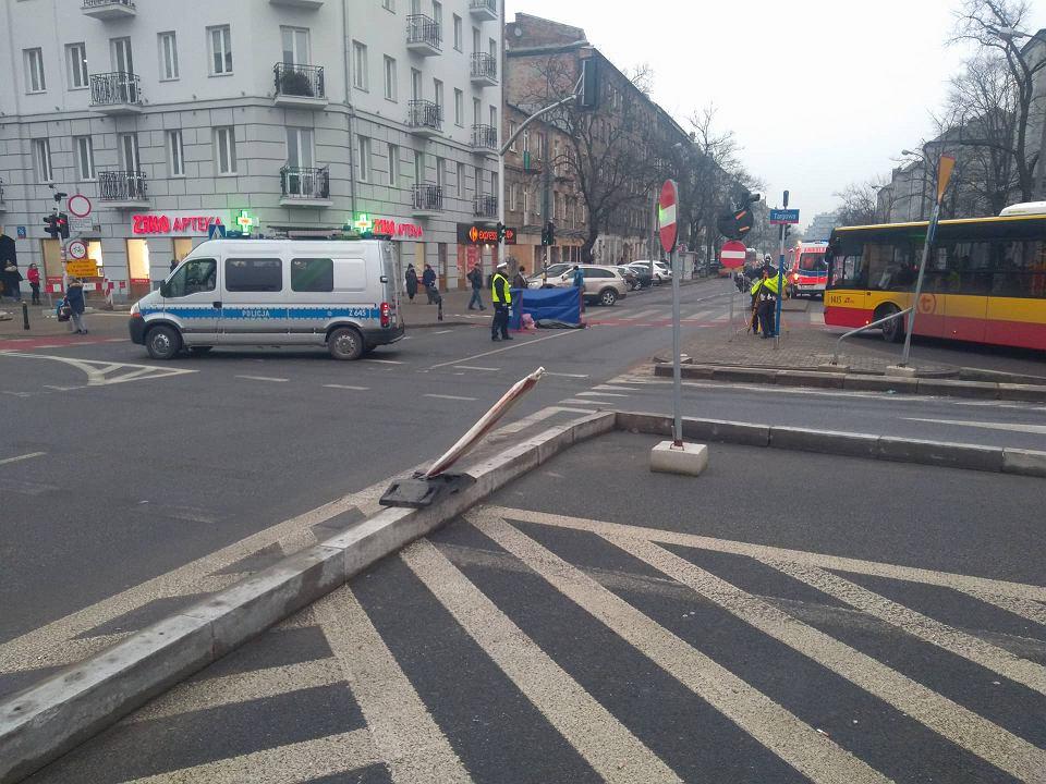 Śmiertelny wypadek na ul. Wileńskiej