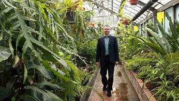 Zbigniew Kącki, dyrektor Ogrodu Botanicznego we Wrocławiu