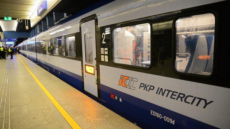 Pociąg Flirt PKP Intercity