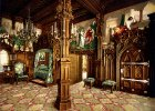Wn�trze zamku. Kolorowana fotografia z ko�ca XIX wieku/ Fot. Joseph Albert/ Domena Publiczna/ Wikimedia Commons