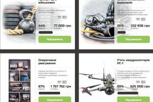 Trening CrossFit dla żołnierzy, dron, pokrowiec do wyrzutni rakiet. Wolontariusze zbierają pieniądze na ukraińską armię