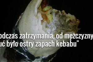 S�upszczanin ukrad� kebaby za 700 z�. Wpad� przez plamy od sosu na ubraniu