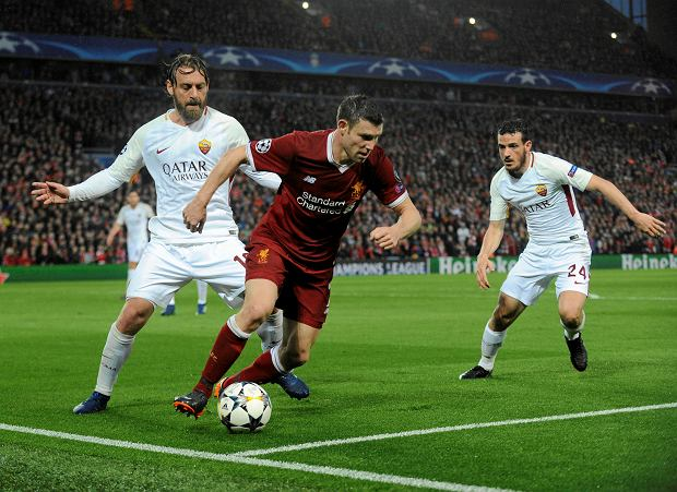 Roma - Liverpool. Kuriozalna bramka dla Romy