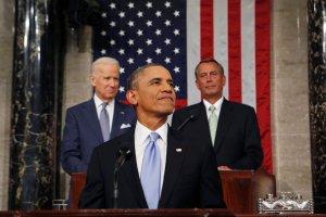 Emocjonuj�ce or�dzie Obamy. Prezydent zapowiedzia� weto dla sankcji wobec Iranu i przywr�cenie zasi�k�w dla bezrobotnych