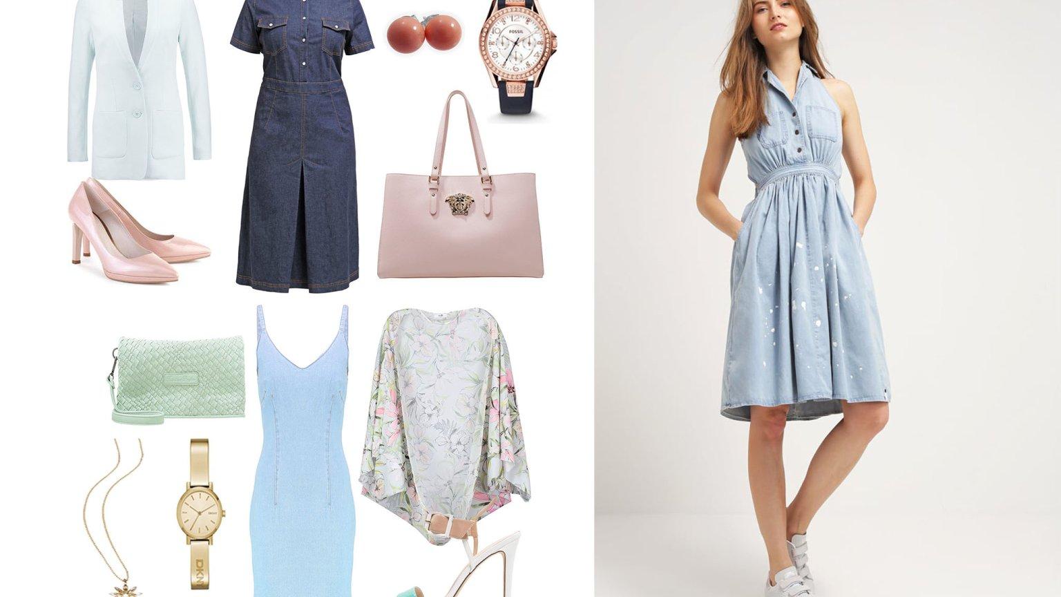d25954db54 Jeansowe sukienki na różne sylwetki - trend dla każdego