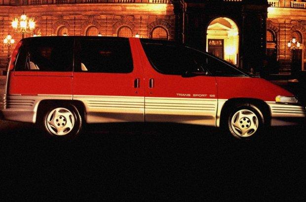 Pontiac Trans Sport | Futursytyczny minivan ma ju� 25 lat