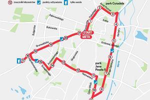 10. PKO Poznań Półmaraton 2017. Tramwaje i autobusy inaczej, ulice na trasie biegu zamknięte