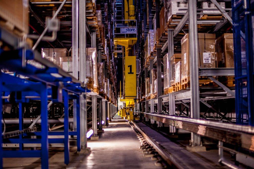 Magazyn automatyczny Ikea w Jarostach