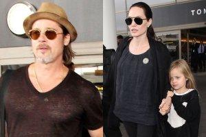Angelina Jolie i Brad Pitt z dzie�mi