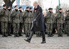 Minister Antoni Macierewicz podczas obchod�w 97 rocznicy wybuchu powstania wielkopolskiego