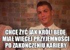 """Cristiano Ronaldo chce po zako�czeniu kariery """"�y� jak kr�l"""""""
