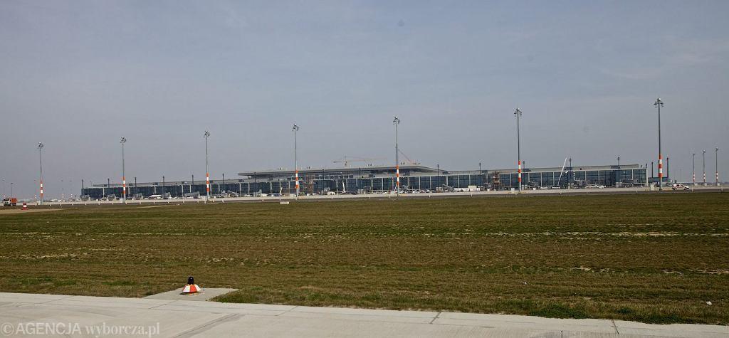 Lotnisko Berlin-Brandenburg w 2012 r. (fot. Łukasz Cynalewski/AG)