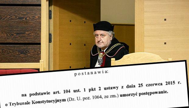 Prezes Trybuna�u Konstytucyjnego Andrzej Rzepli�ski