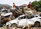 Skutki powodzi w Japonii