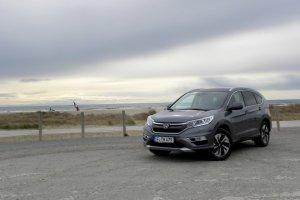 Honda CR-V FL 1.6 i-DTEC | Pierwsza jazda | Wewn�trzne zmiany