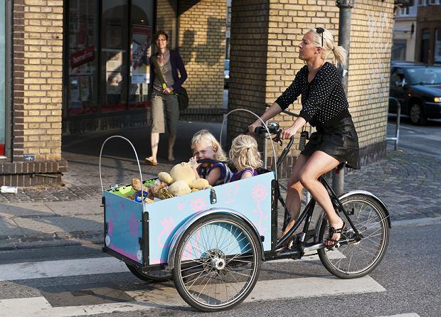 Jak jezdzic zima na rowerze po miescie?- rower, zima, miasto ...