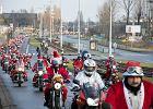 Mikołaje na motocyklach już piętnasty raz przejechali przez Trójmiasto