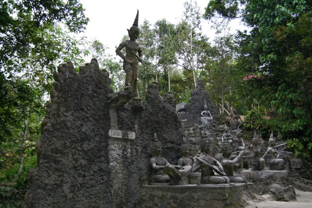 Magiczny ogród na wyspie Ko Samui