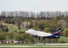 Samolot Sukhoi Superjet 100 rosyjskich linii Aerof�ot