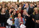 Dalajlama spotkał się z młodzieżą. Mówił o solidarności, Wałęsie i... piekle [ZDJĘCIA]