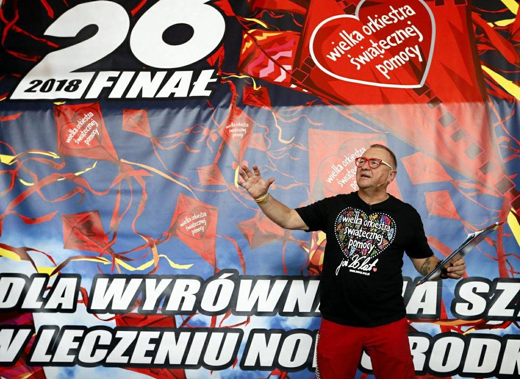Jurek Owsiak przed 26. finałem WOŚP