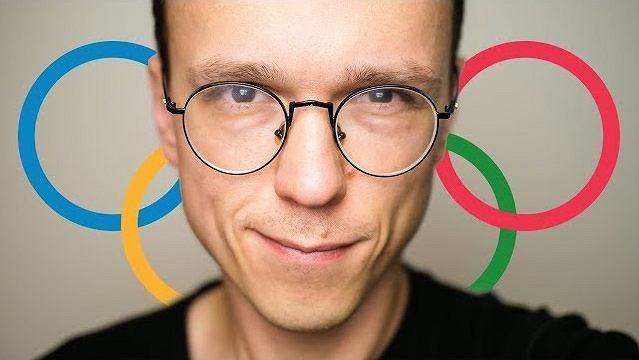 Krzysztof Gonciarz - okładka vloga 'Jadę na Igrzyska Olimpijskie!' / https://www.youtube.com/channel/UCzuvRWjh7k1SZm1RvqvIx4w