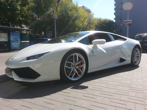 Skradziono Lamborghini red. naczelnego Moto.pl