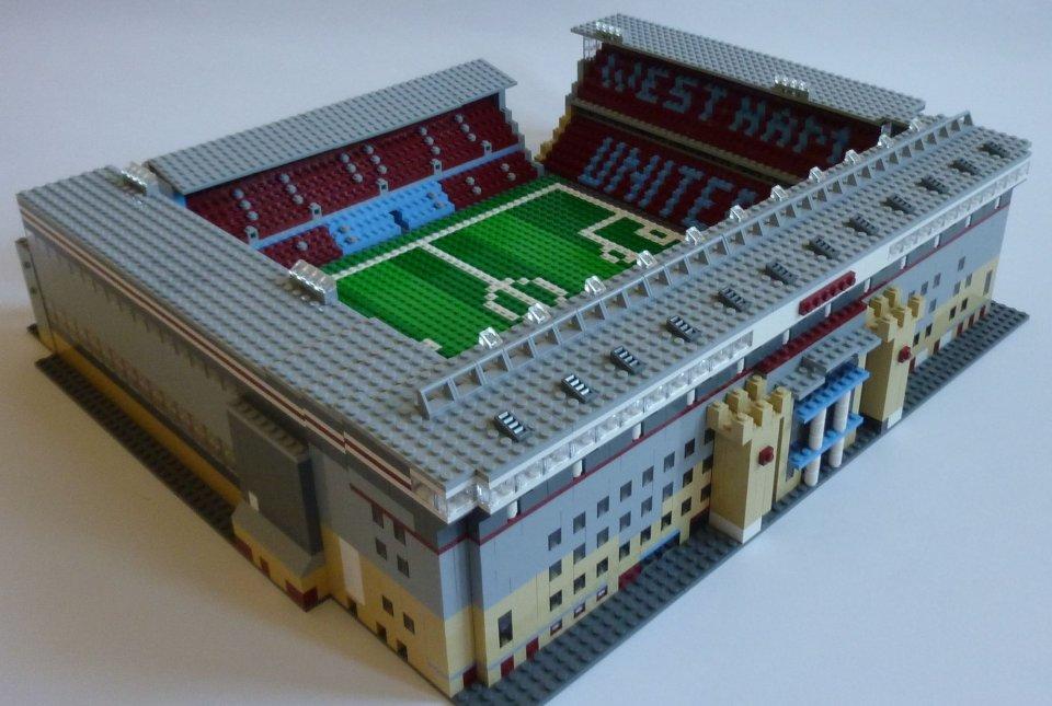 Aston Villa Lego Figure