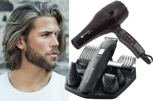 Męskie fryzury - długie włosy