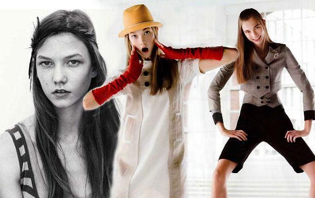 Karlie Kloss na pocz�tku kariery